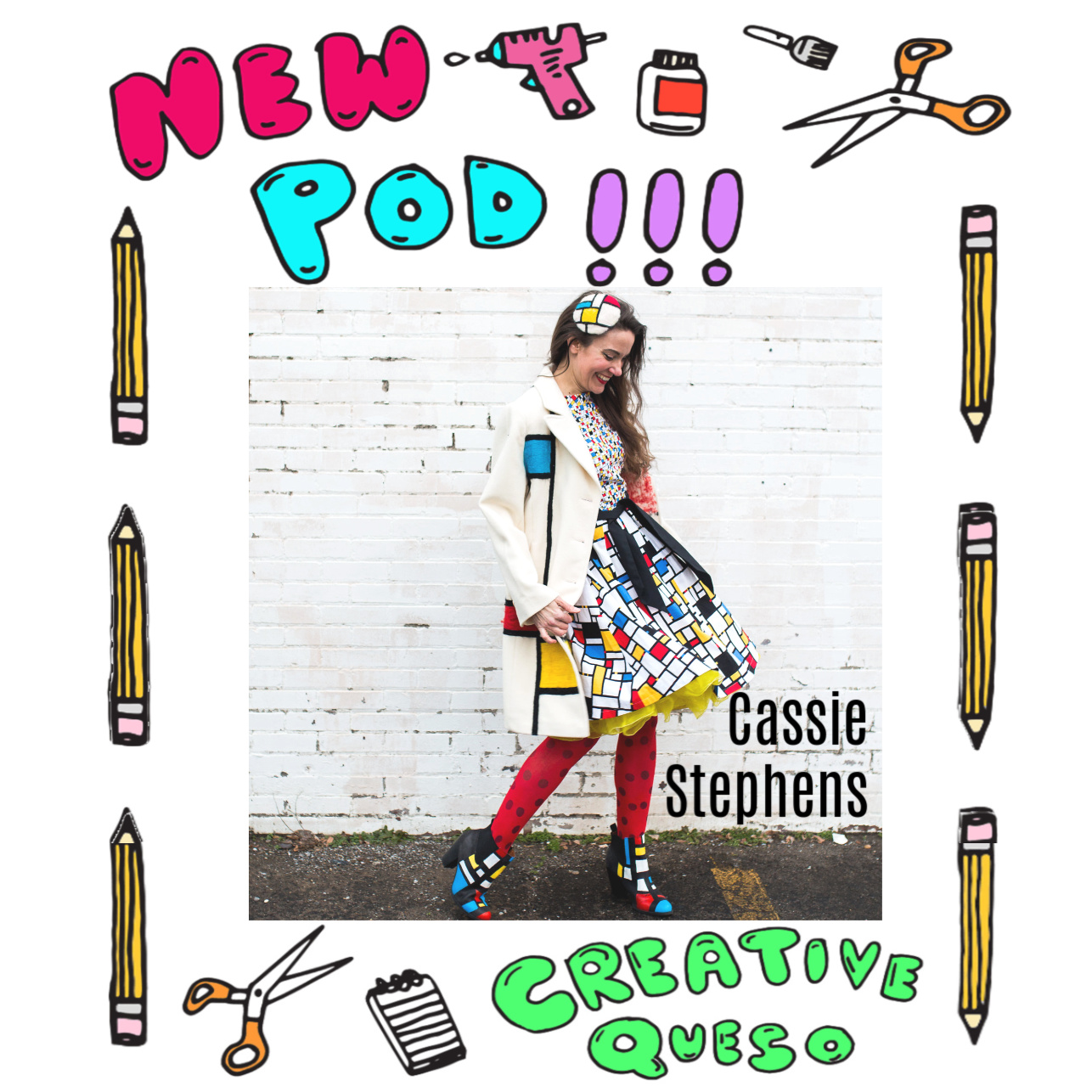 Cassie Stephens on the Creative Queso Podcast