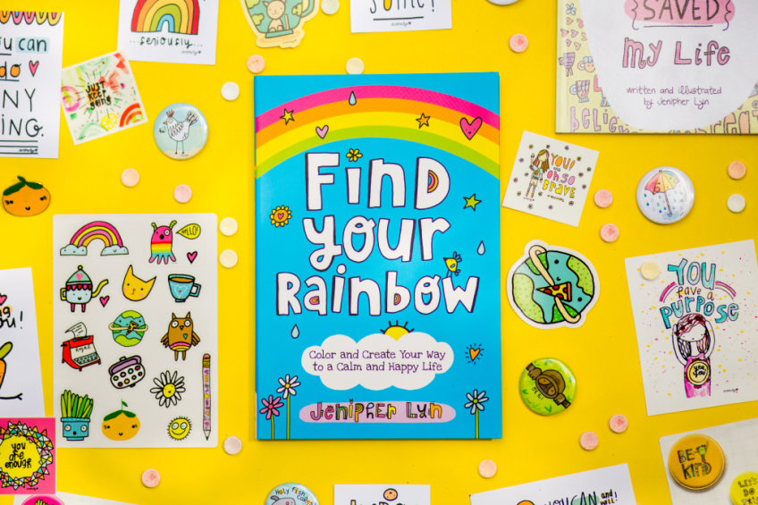 Find Your Rainbow book by Jenipher Lyn