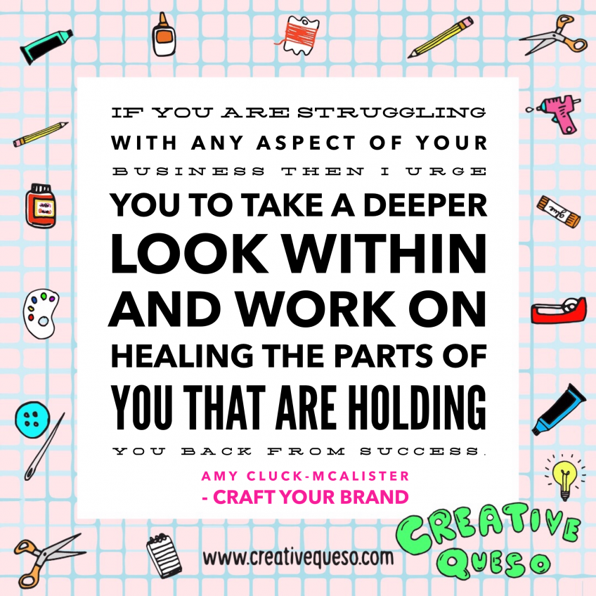 Look Within and Work on Healing - Amy Cluck-McAlister