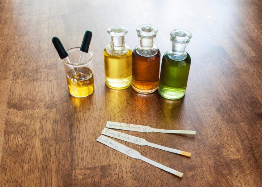 Handmade perfume from Jessica Hannah