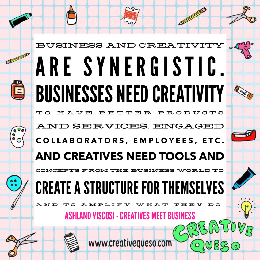 Ashland Viscosi of Creatives Meet Business