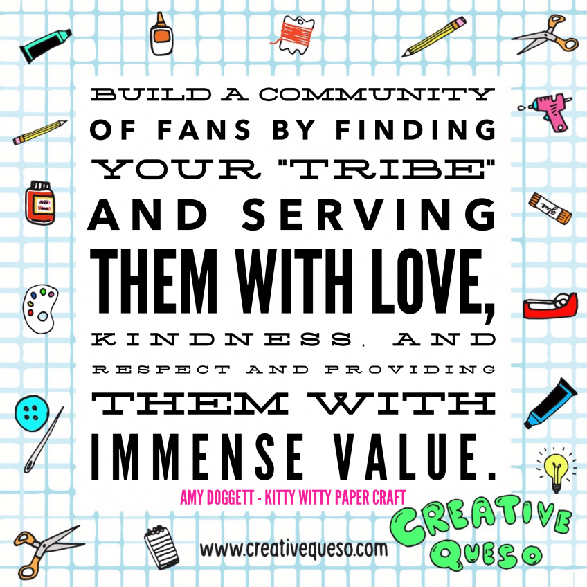 Finding your tribe from Amy Doggett of Kitty Witty Paper Craft