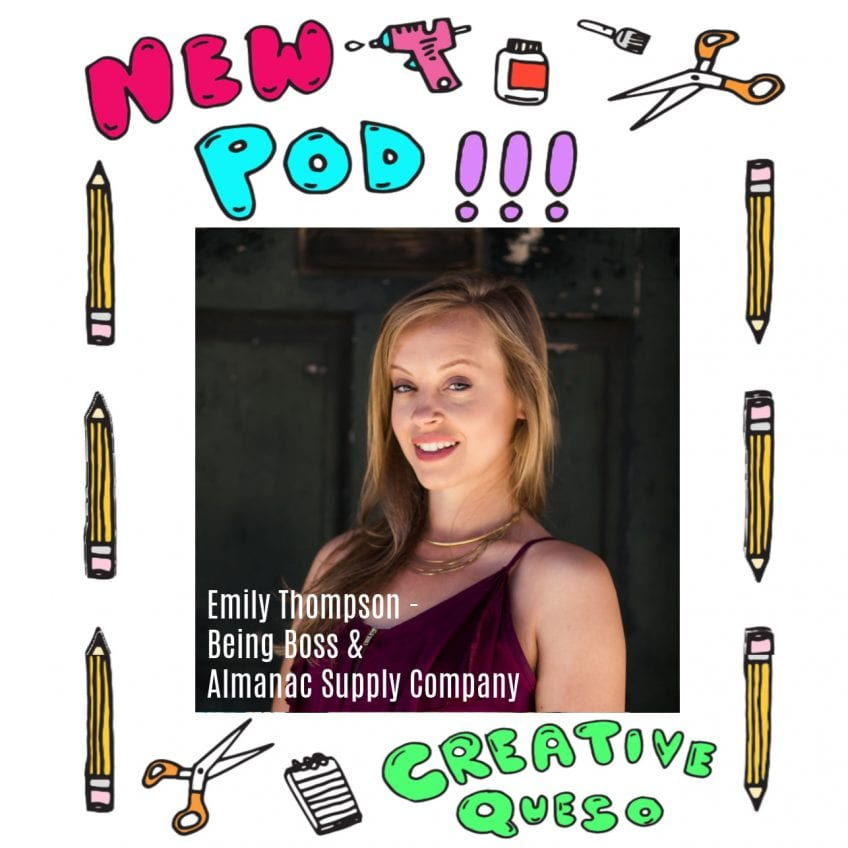 Emily Thompson of Being Boss and Almanac Supply Company