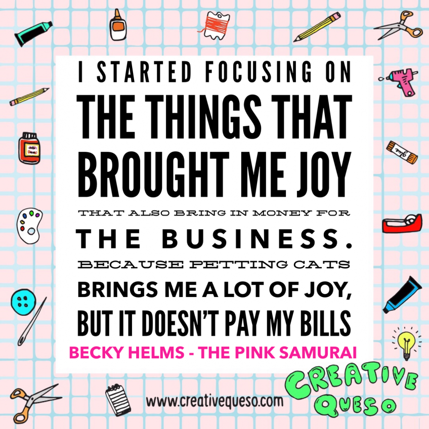 Becky helms quote about business