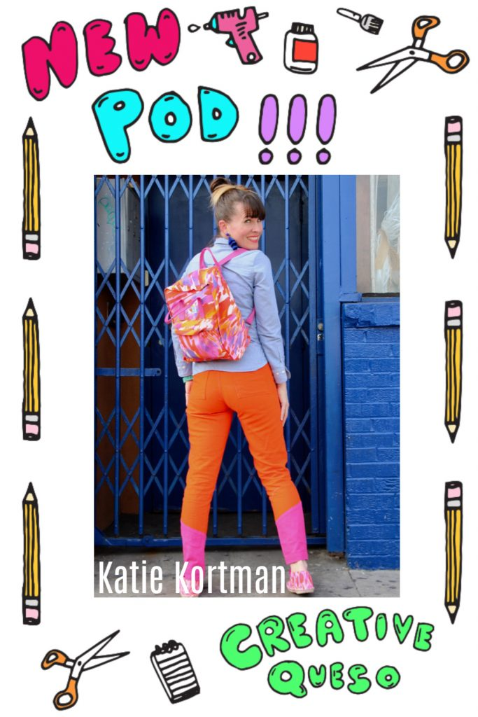 Spoonflower fabric designer and Instagram dancing sensation Katie Kortman